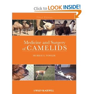 Medicine and Surgery of Camelids, Fowler